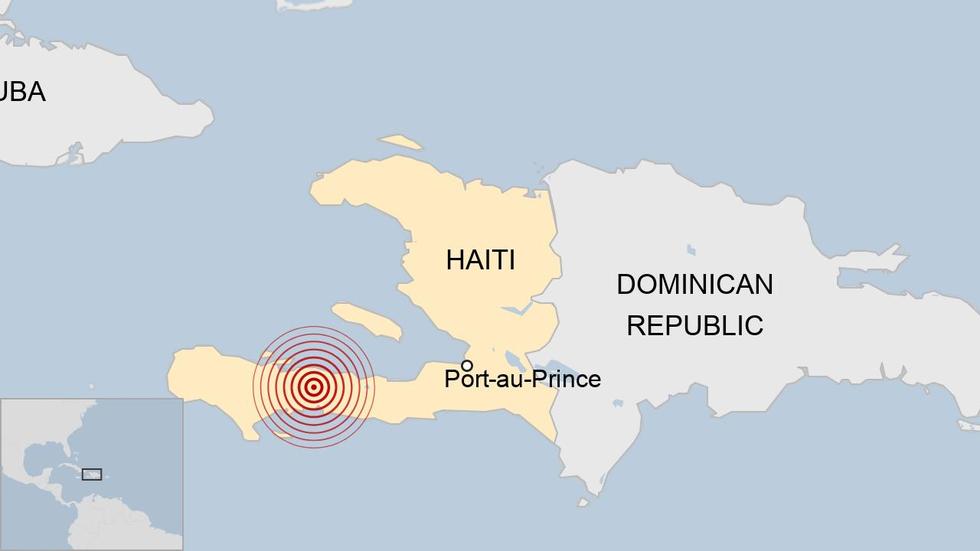 Chùm ảnh thảm họa động đất ở Haiti, hơn 300 người chết - Ảnh 8.