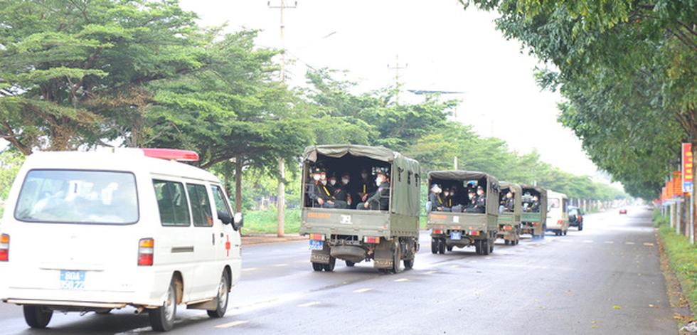 Trung đoàn Cảnh sát cơ động Tây Nguyên chi viện cho Bà Rịa - Vũng Tàu chống dịch - Ảnh 5.