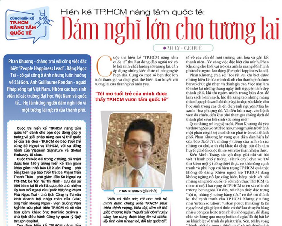 Mời bạn tìm đọc Tuổi Trẻ số đặc biệt 2-9 - Giấc mơ Việt Nam hóa rồng - Ảnh 3.