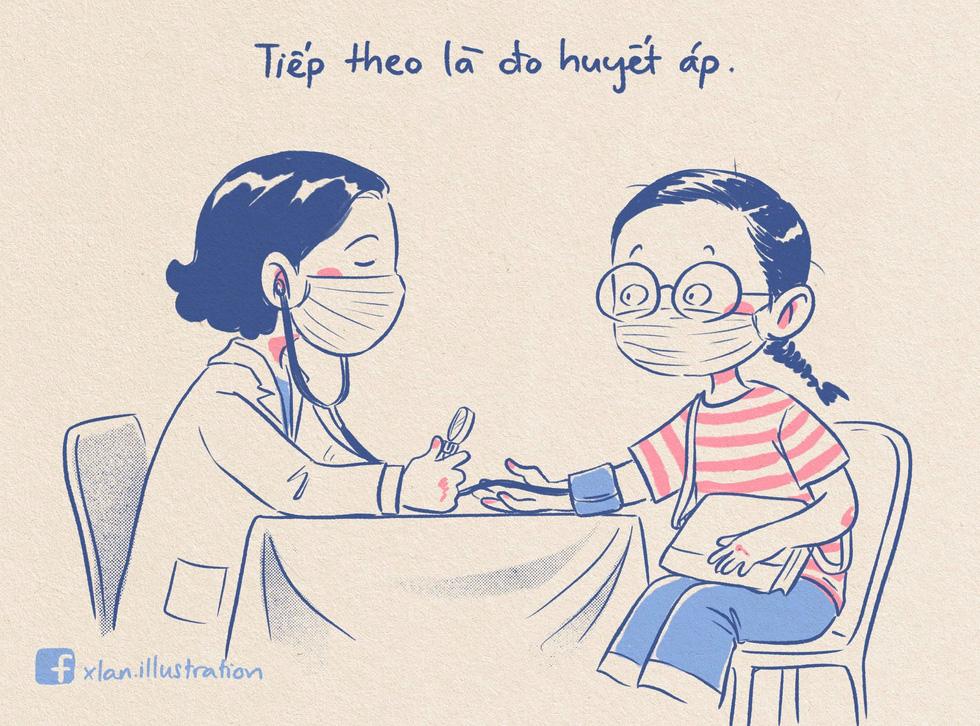 Nhật ký đi tiêm vắc xin của tác giả bộ tranh 'em bé cách ly' lại gây sốt - Ảnh 8.
