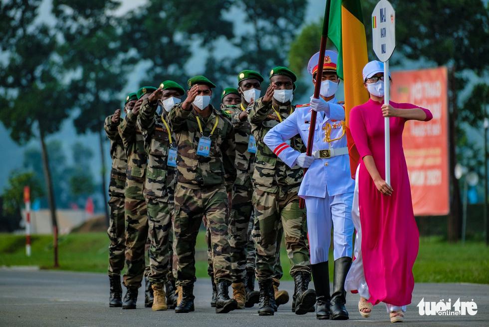 Khai mạc Army Games 2021 tại Việt Nam: Củng cố lòng tin giữa các quốc gia, quân đội - Ảnh 12.