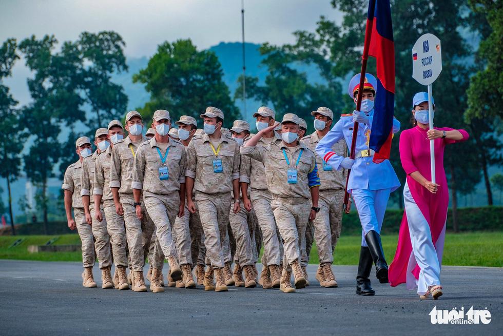 Khai mạc Army Games 2021 tại Việt Nam: Củng cố lòng tin giữa các quốc gia, quân đội - Ảnh 9.