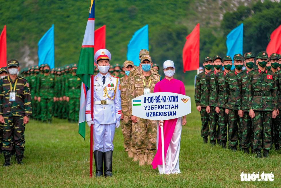 Khai mạc Army Games 2021 tại Việt Nam: Củng cố lòng tin giữa các quốc gia, quân đội - Ảnh 13.