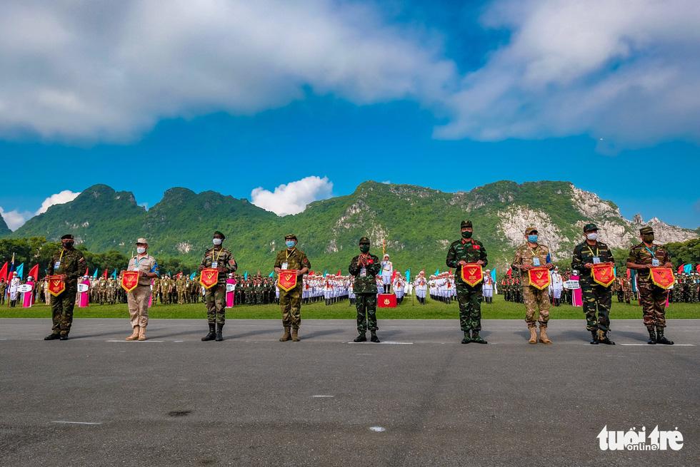 Khai mạc Army Games 2021 tại Việt Nam: Củng cố lòng tin giữa các quốc gia, quân đội - Ảnh 3.