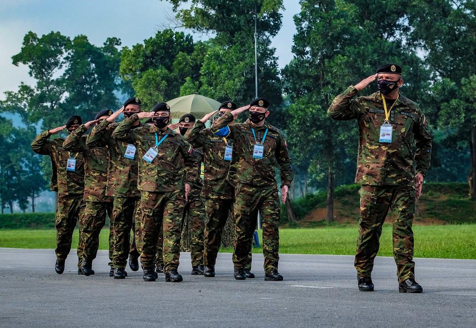 Khai mạc Army Games 2021 tại Việt Nam: Củng cố lòng tin giữa các quốc gia, quân đội - Ảnh 14.