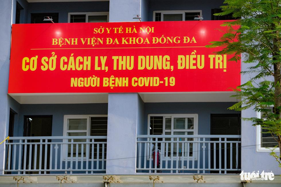 Hà Nội: Khu tái định cư Đền Lừ 3 bắt đầu tiếp nhận bệnh nhân COVID-19 - Ảnh 2.
