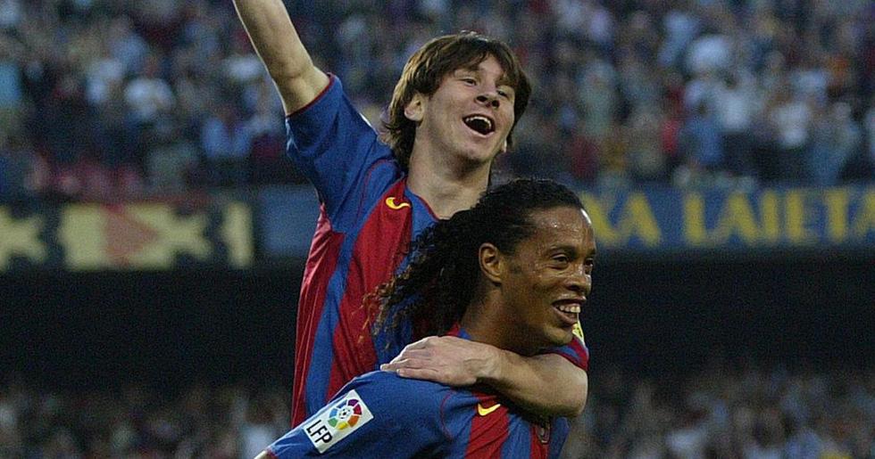 Sự nghiệp của Messi tại Barca qua ảnh - Ảnh 2.