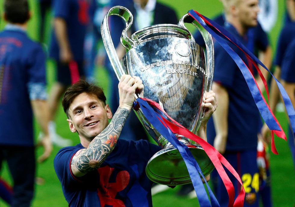 Sự nghiệp của Messi tại Barca qua ảnh - Ảnh 17.