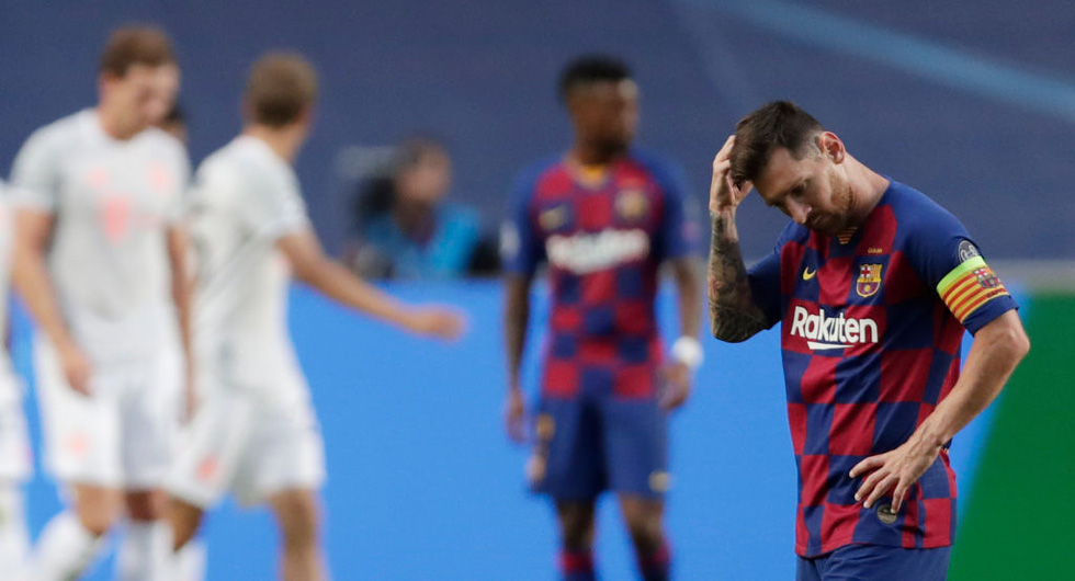 Sự nghiệp của Messi tại Barca qua ảnh - Ảnh 15.