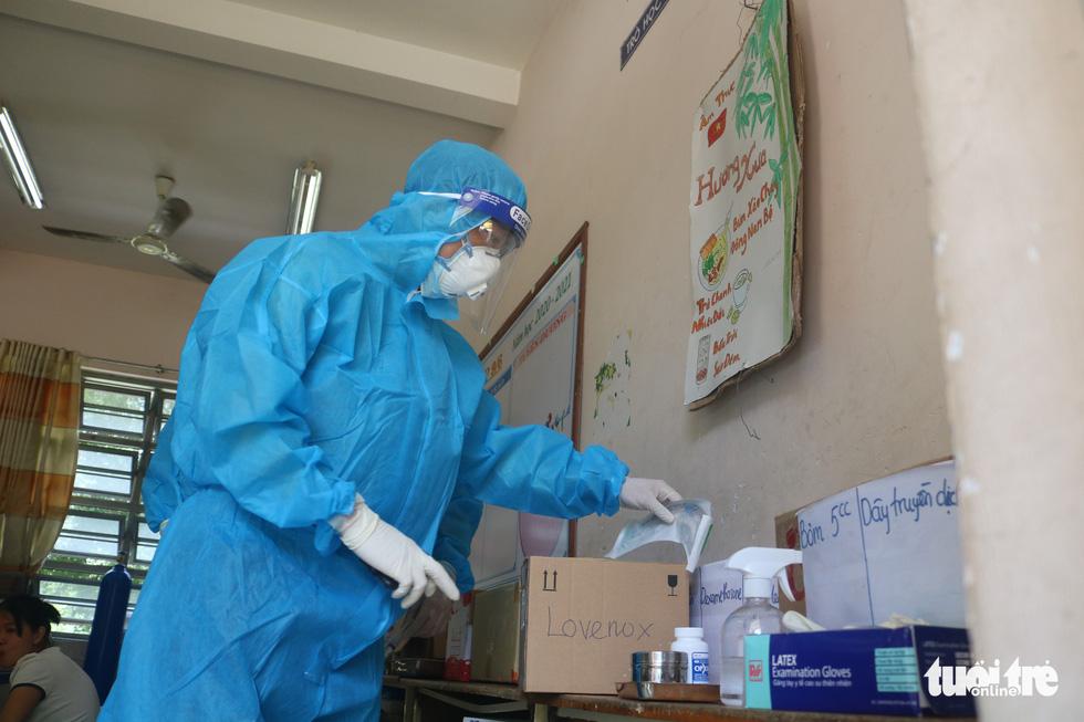 'Bệnh viện dã chiến tuyến huyện' ở TP.HCM chữa khỏi cả ngàn F0 - Ảnh 6.
