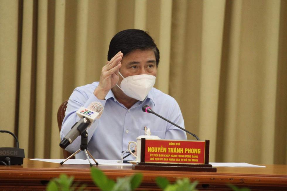 Chủ tịch Nguyễn Thành Phong gửi thư cảm ơn biệt đội taxi cấp cứu F0, Trung tâm Cấp cứu 115 - Ảnh 1.
