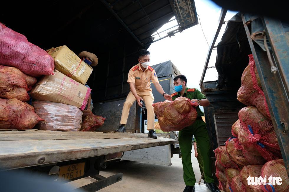 Lâm Đồng hào phóng, tặng rau nguyên vườn, chở rau bằng xe giường nằm máy lạnh đến TP.HCM - Ảnh 10.