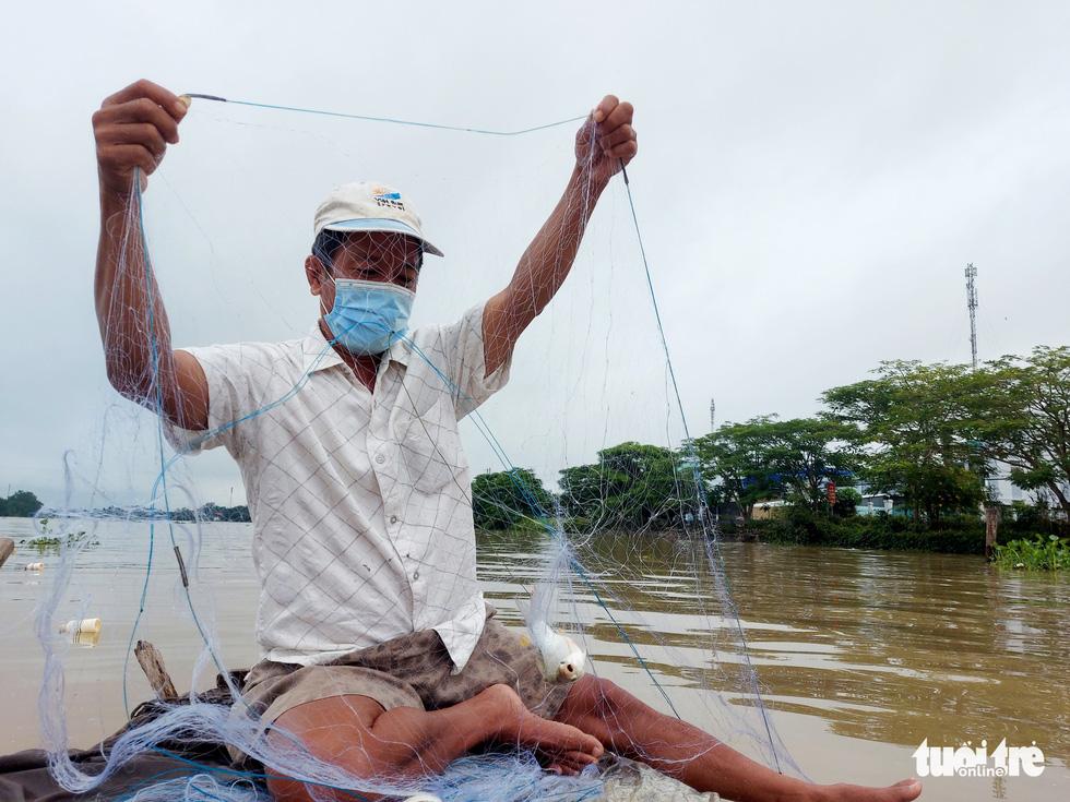 Dân vùng ven Cần Thơ vui mừng thả lưới, câu cá sau 2 tháng ở nhà - Ảnh 1.
