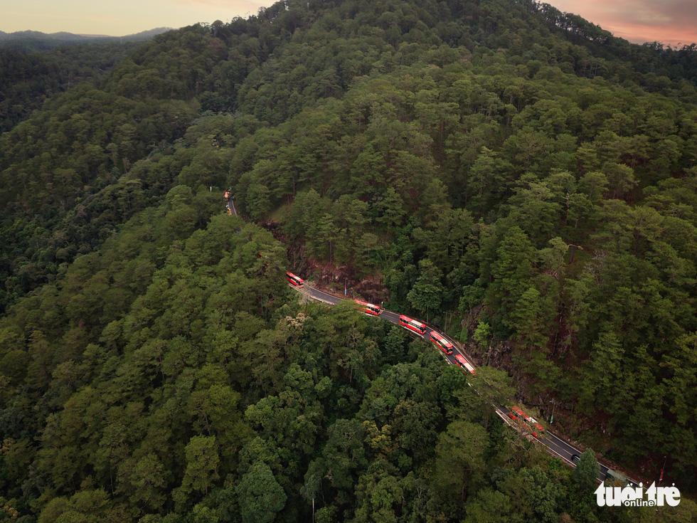 Hình ảnh đoàn xe VIP của Lâm Đồng hoàn thành chở 6.000 tấn nông sản tặng miền Nam - Ảnh 12.