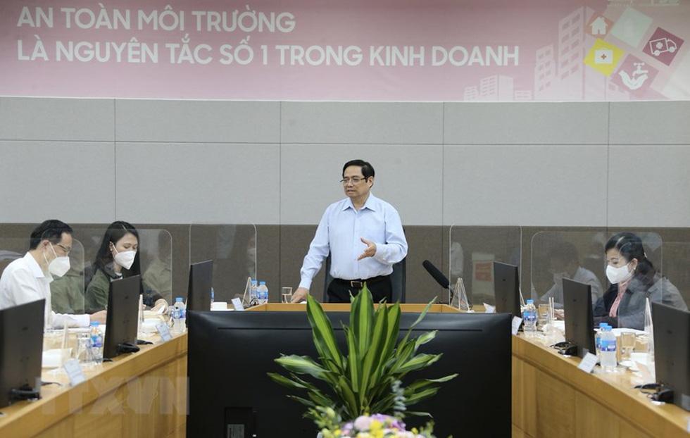 Thủ tướng thăm Nhà máy Samsung Electronics Việt Nam Thái Nguyên - Ảnh 2.