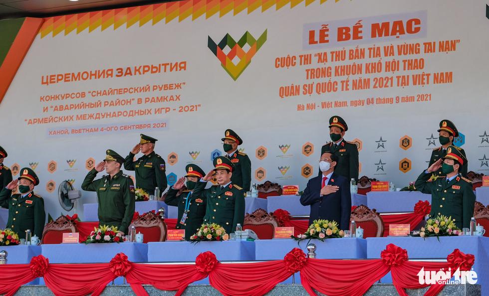 Army Games 2021 bế mạc, đội tuyển Việt Nam về nhất cuộc thi 'xạ thủ bắn tỉa' - Ảnh 1.