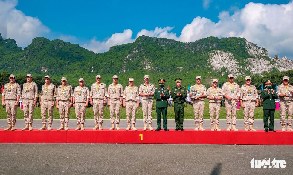 Army Games 2021 bế mạc, đội tuyển Việt Nam về nhất cuộc thi 'xạ thủ bắn tỉa' - Ảnh 8.
