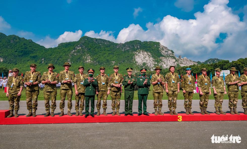 Army Games 2021 bế mạc, đội tuyển Việt Nam về nhất cuộc thi 'xạ thủ bắn tỉa' - Ảnh 10.