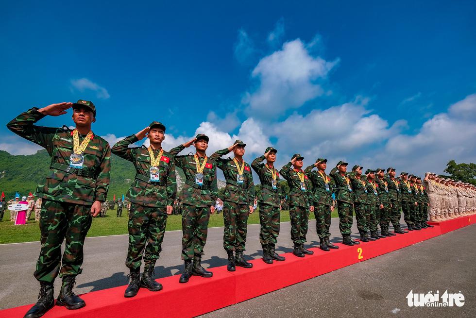Army Games 2021 bế mạc, đội tuyển Việt Nam về nhất cuộc thi 'xạ thủ bắn tỉa' - Ảnh 11.
