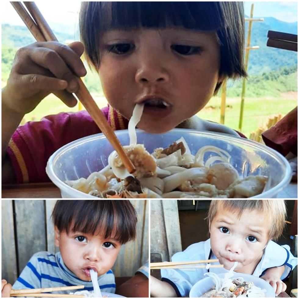Lễ khai giảng đặc biệt trên rẻo cao với tô mì Quảng cô giáo nấu thết đãi học trò - Ảnh 9.