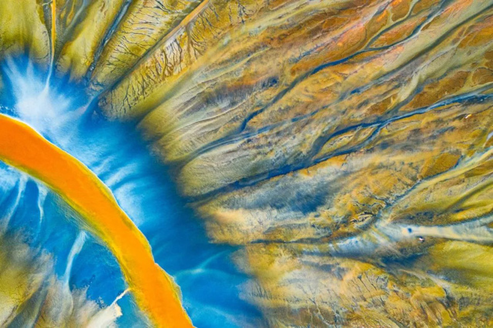 Ảnh chụp ở phá Tam Giang thắng giải cuộc thi chụp ảnh từ trên cao - Ảnh 8.
