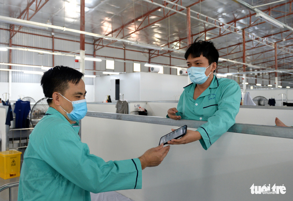 Bệnh viện dã chiến thuộc Bộ Công an nâng tầng điều trị - Ảnh 6.