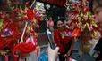 Dân Đông Á xài tiền như nước dịp Tết Nguyên đán