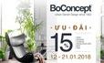 Nội thất BoConcept ưu đãi hấp dẫn nhân dịp năm mới 2018