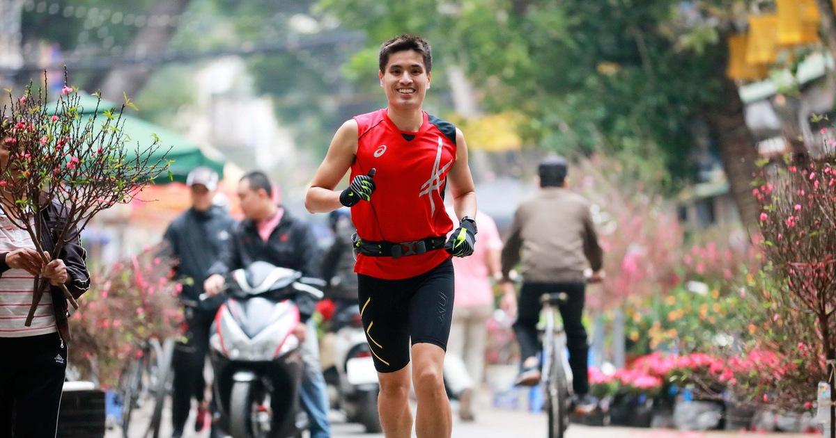 'Chạy bộ là một phần cuộc sống của tôi'