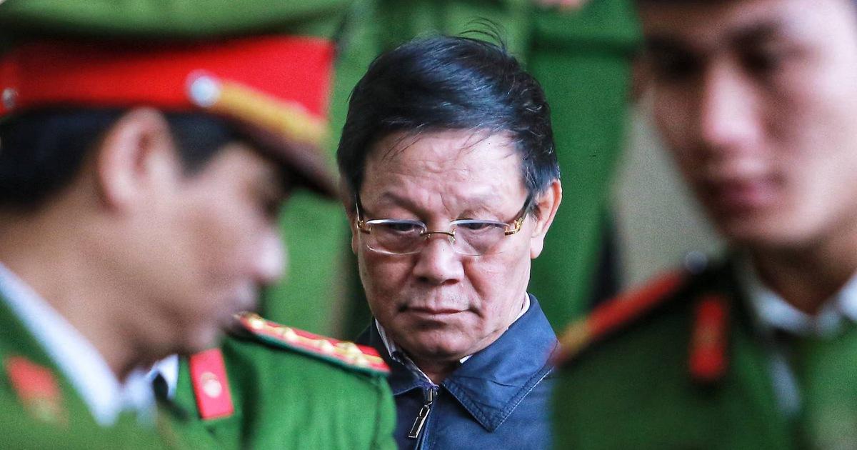 Cựu trung tướng Phan Văn Vĩnh bị phạt 9 năm tù