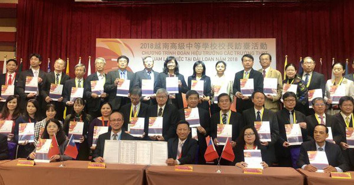 Tăng cường hợp tác giáo dục TP.HCM - Đài Loan
