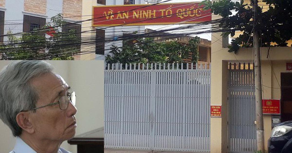 Ông Nguyễn Khắc Thủy đến nhà tạm giữ tự nguyện thi hành án