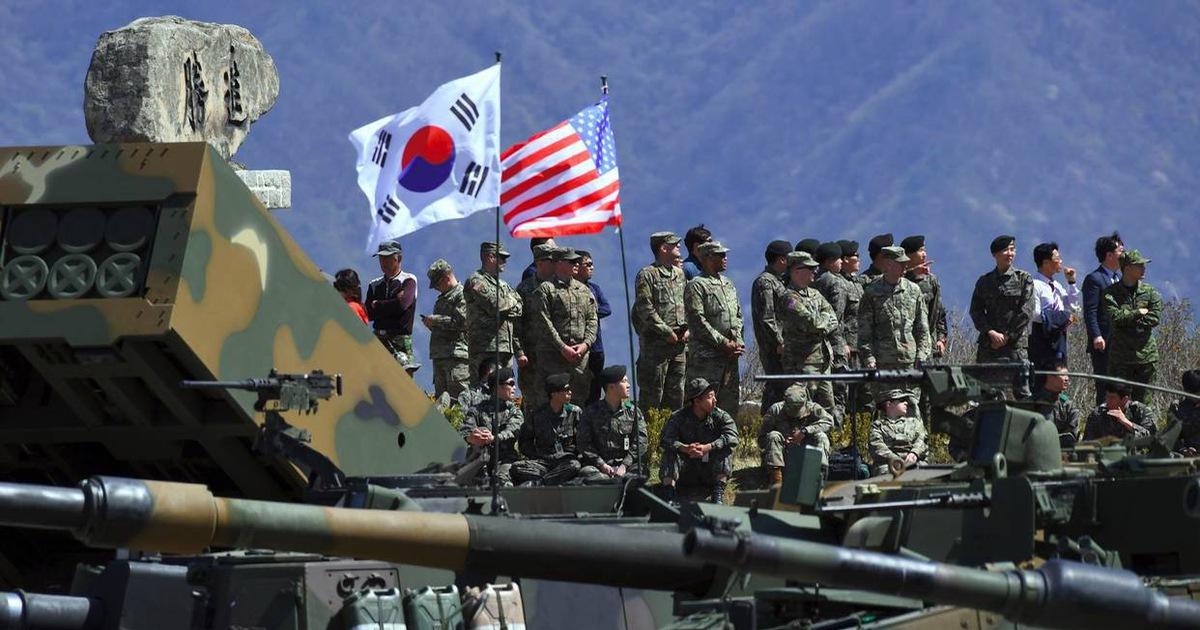 Mỹ – Hàn chính thức tuyên bố dừng tập trận chung