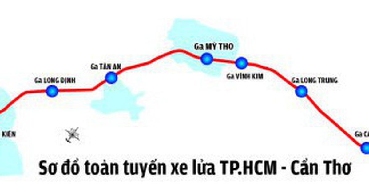 TP.HCM đề xuất đẩy nhanh đầu tư đường sắt TP.HCM – Cần Thơ
