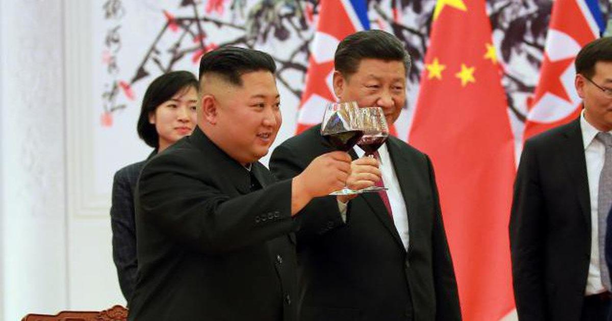 Gặp ông Kim, ông Tập ca ngợi kết quả hội đàm Mỹ – Triều