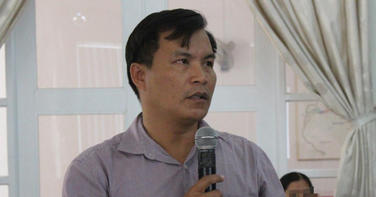 Đình chỉ chức vụ chủ tịch xã để lấn chiếm đất công đặc khu Bắc Vân Phong