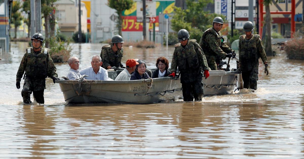 Ít nhất 88 người chết do mưa lớn lịch sử ở phía tây Nhật Bản