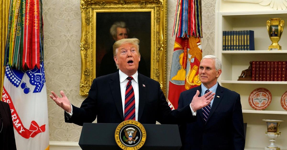 Ông Trump đề xuất giải pháp chấm dứt đóng cửa chính phủ, Dân chủ vẫn lắc đầu