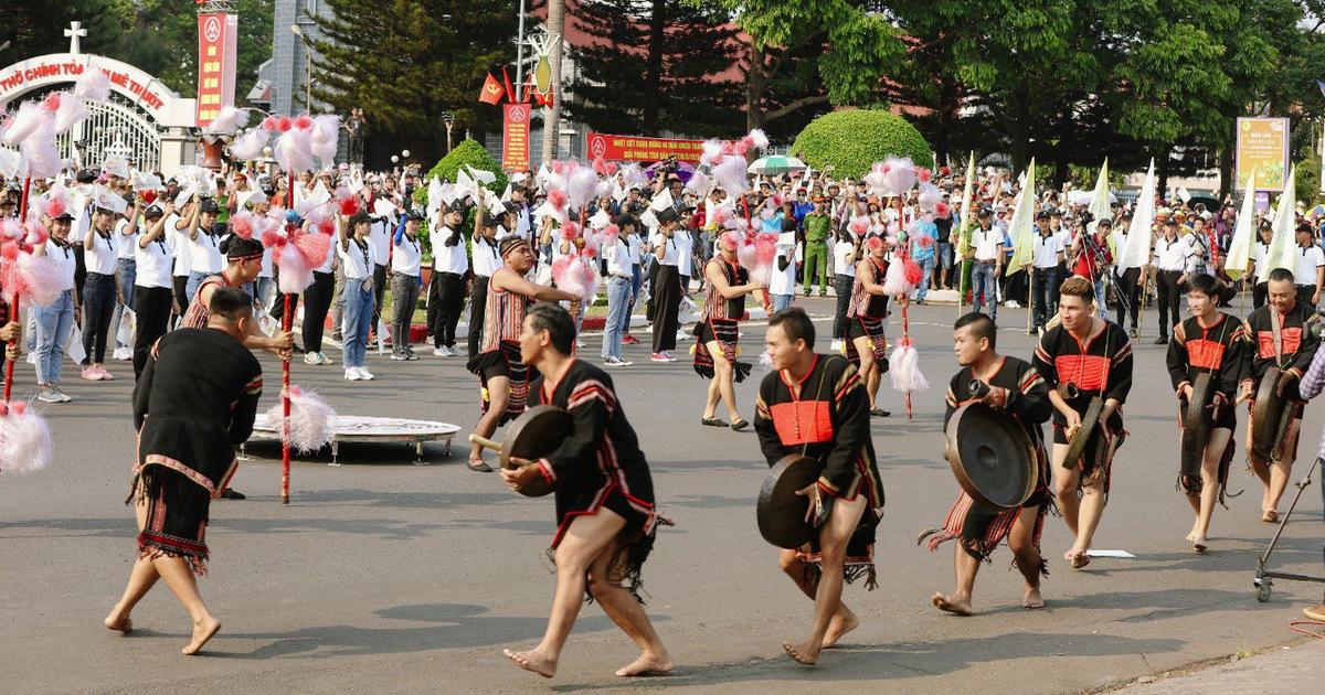 Ấn tượng đặc biệt lễ hội đường phố tại Buôn Ma Thuột