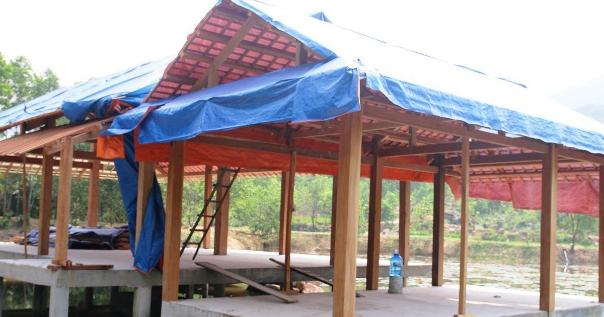 Chủ đầu tư tự tháo dỡ khu nghỉ dưỡng ''chui'' trong rừng phòng hộ