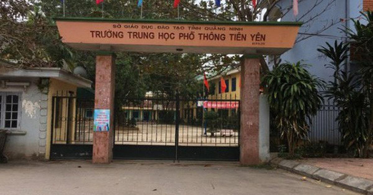 Quảng Ninh thông tin việc gần 600 học sinh Tiên Yên nghỉ học bất thuờng
