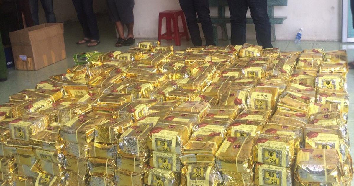Công an TP.HCM phá đại án ma túy thu hơn 1,1 tấn