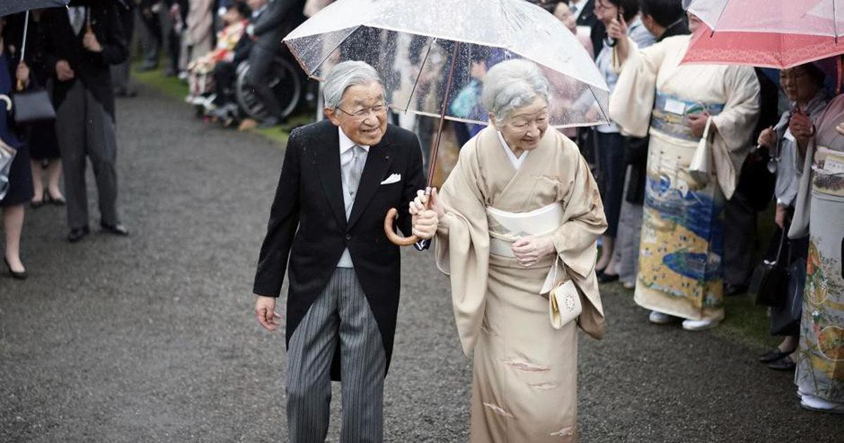 Những hình ảnh ghi dấu cuộc đời Nhật hoàng Akihito