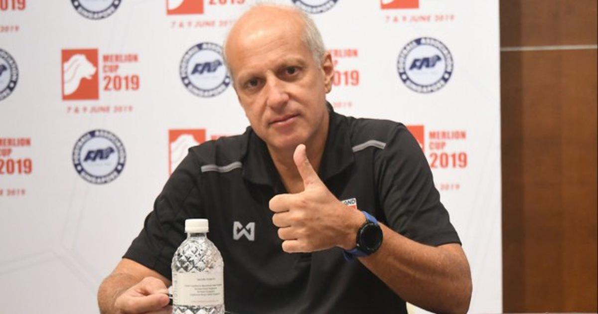 HLV Gama chính thức chia tay đội tuyển U23 Thái Lan