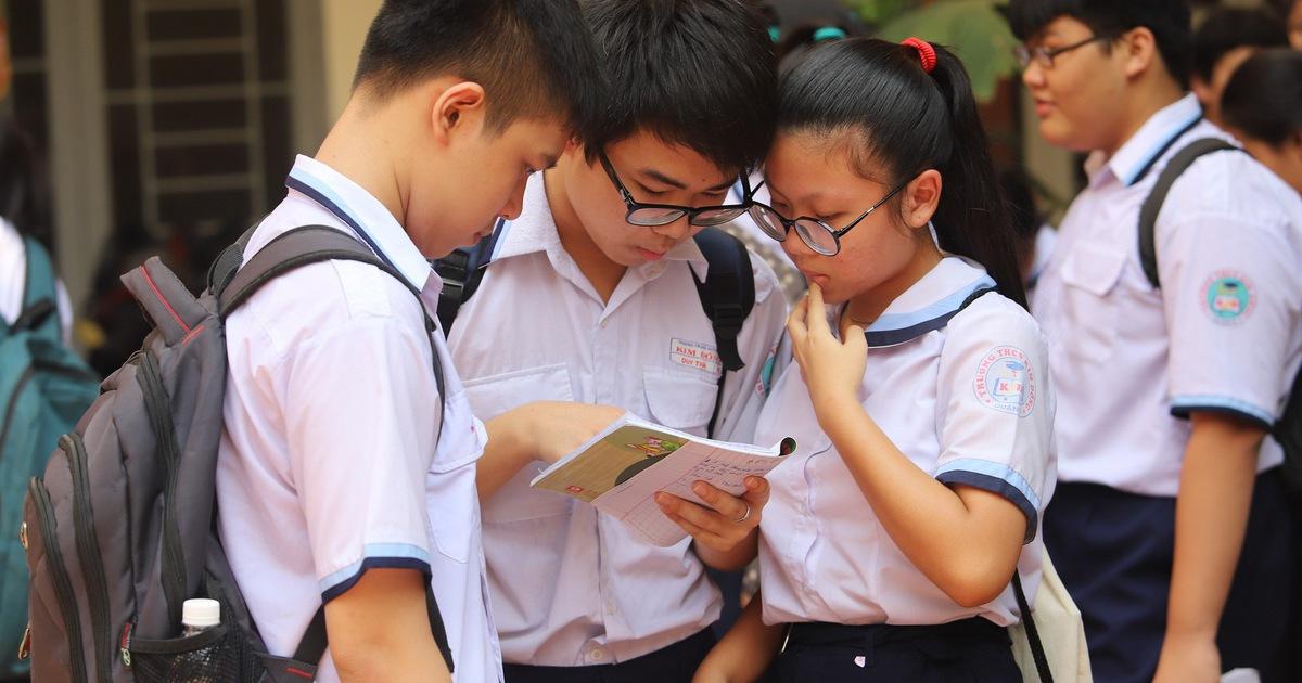 TPHCM công bố điểm thi lớp 10
