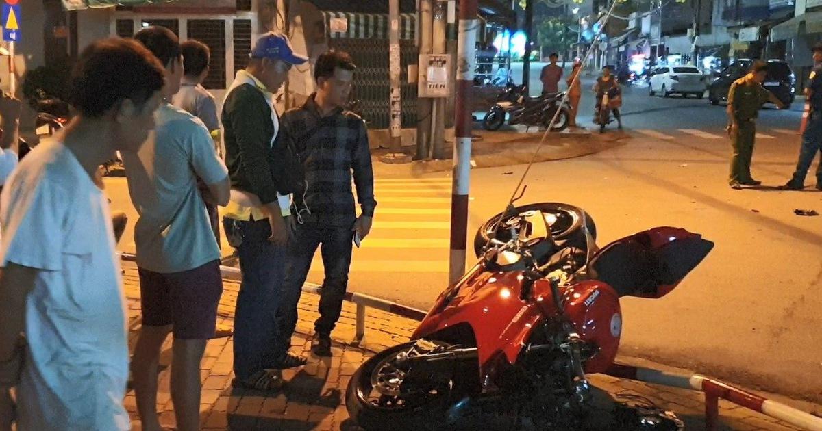 Đi môtô phân khối lớn, nam thanh niên tử vong sau cú tông mạnh