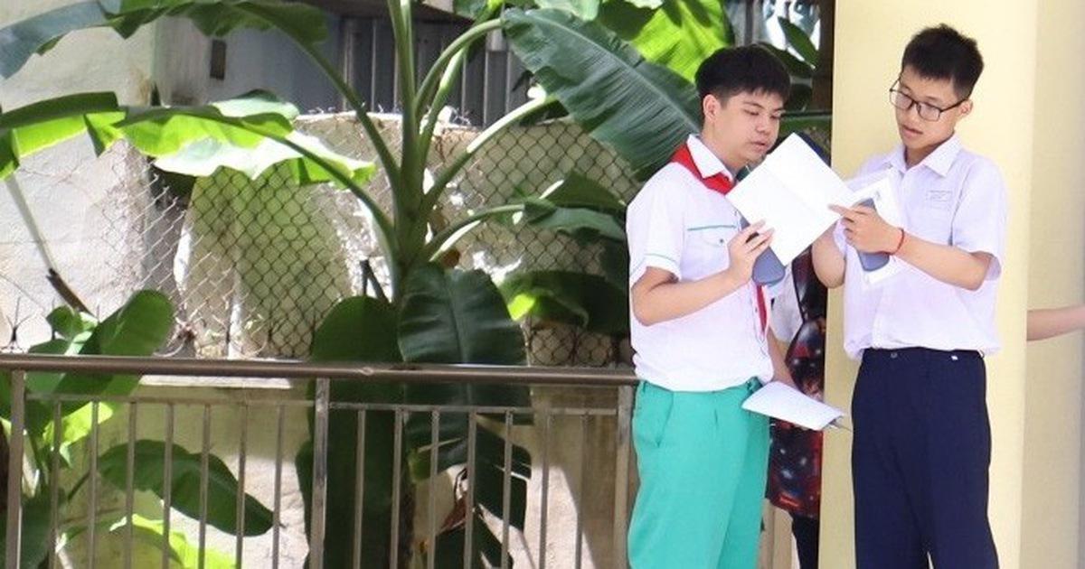 Đà Nẵng công bố điểm chuẩn lớp 10 THPT