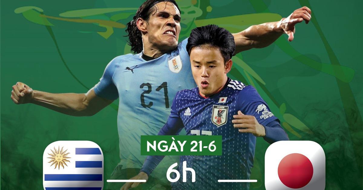 Lịch trực tiếp Copa America 2019: Uruguay đụng độ Nhật