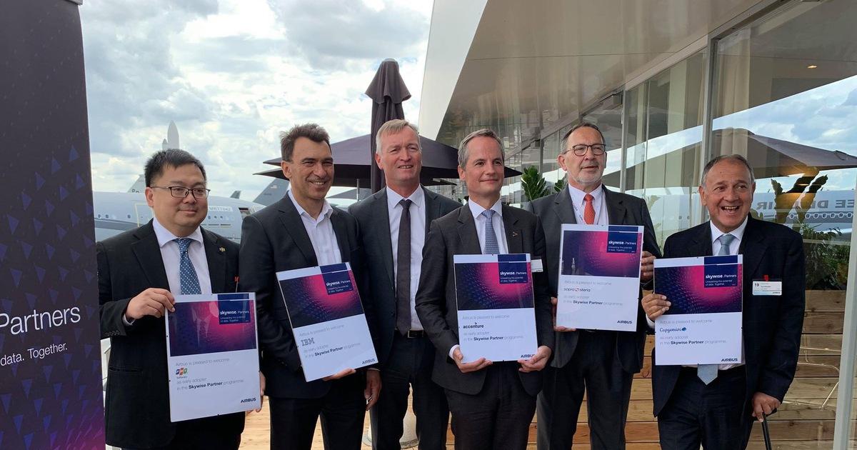 Tập đoàn FPT trở thành 1 trong 5 đối tác chuyển đổi số của Airbus