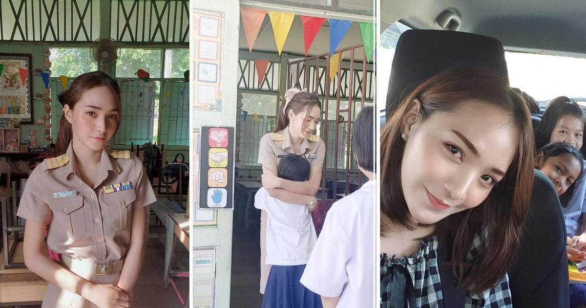 Clip chào đón của cô giáo Thái Lan khiến nhiều người ''muốn làm học sinh''